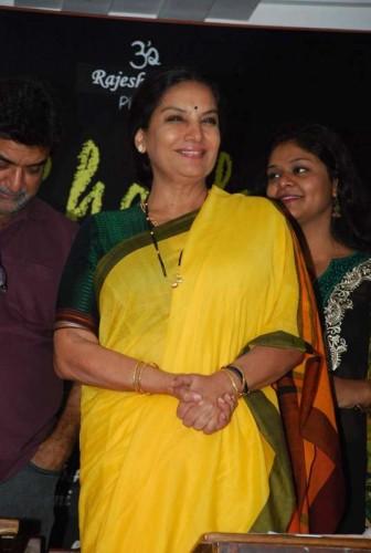 Actress Shabana Azmi