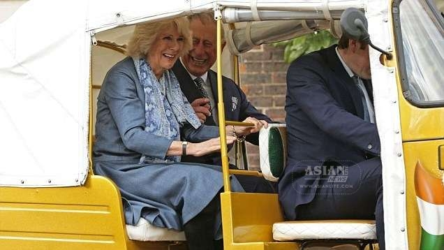 Prince Charles and Duchess of Cornwall Camila promoting a charity in India