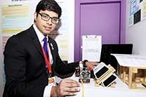 Pratap Singh. Photo credit: National Science + Engineering Competition