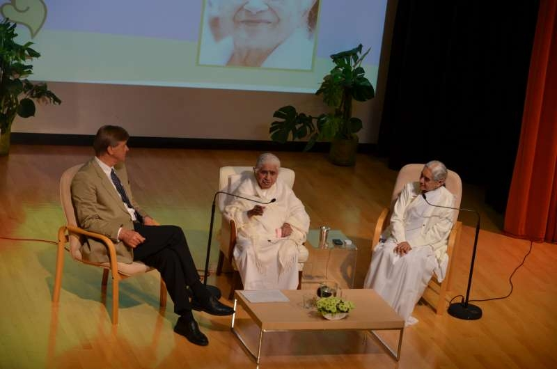 Dadi Janki, Sister Jayanti and Anthony Phelips