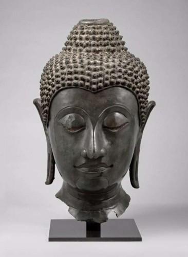Buddhist head