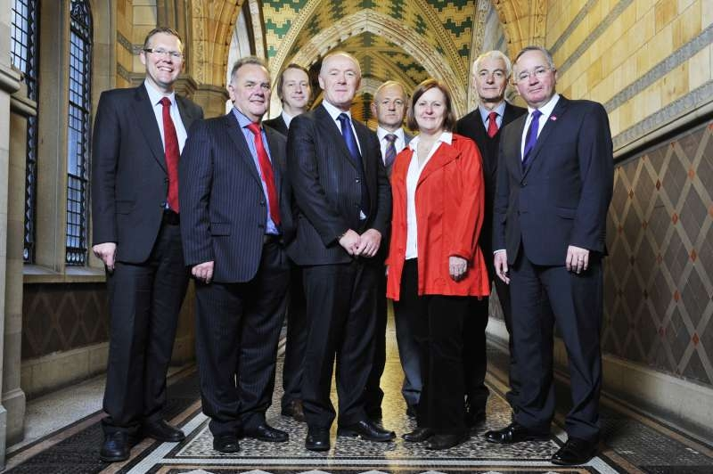 A file pic of Core Cities UK leaders when they met in Manchester