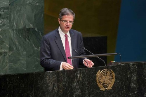 France's Permanent Representative Francois Delattre expressed support for India becoming a permanent member of the Security Council as he spoke Tuesday at the General Assembly meeting on 70th anniversary of the end of World War II.