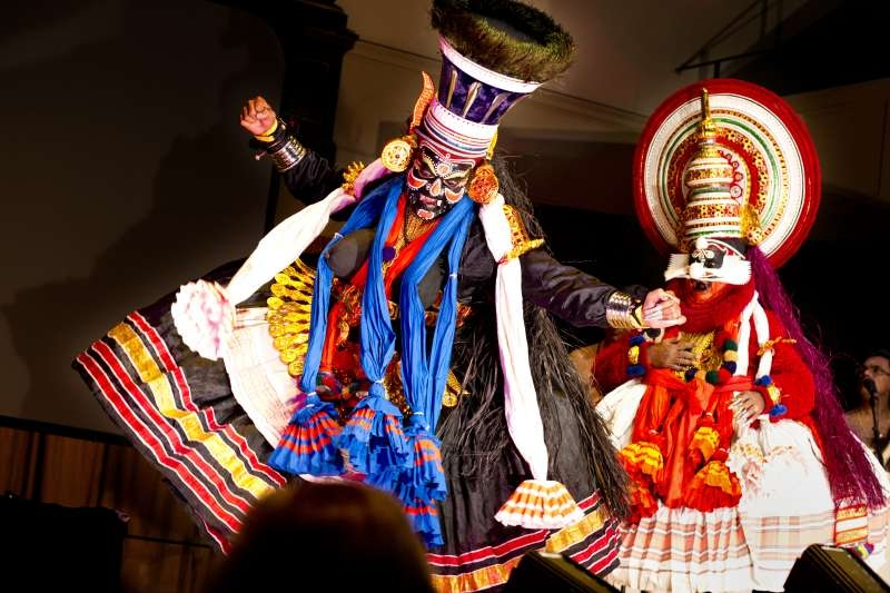 Kathakali, a traditional art form of Kerala, is quite popular among tourists- Pic: Chris Hoare
