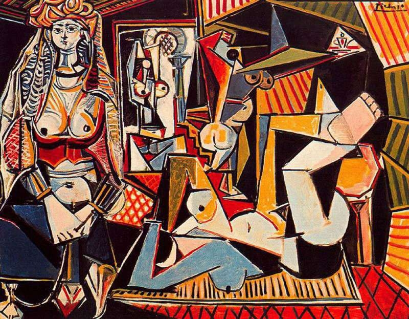 Picaso's 1955 cubist oil Les femmes d'Alger (Version O) fetched $179.4m (£115m) at Christie's in New York