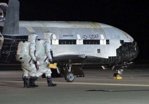 US Air Force's mysterious X-37B