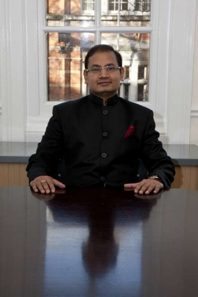 Vijay Goel, chairman of the Asian Business Association of the London Chamber of Commerce and  partner at Singhania & Co