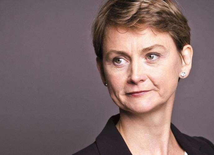 Yvette Cooper, shadow home secretary, and the Labour MP for Normanton, Pontefract and Castleford