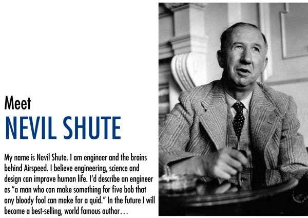 A promo of Nevil Shute at York Museum