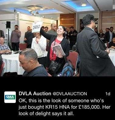 dvla auction