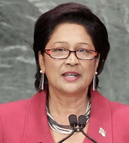 Trinidad and Tobago Prime Minister Kamla Persad Bissessar