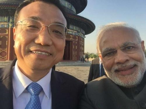 Chinese Premier Li Keqiang, Prime Minister Narendra Modi