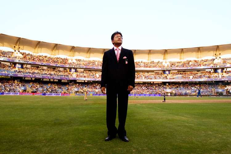 Lalit Modi, former chief of India's Premier League Cricket