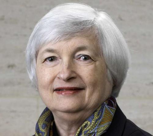 US Fed chief Janet Yellen