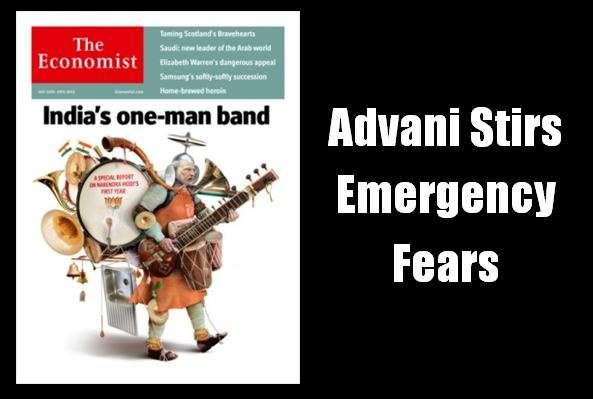 Advani Emergency Fears