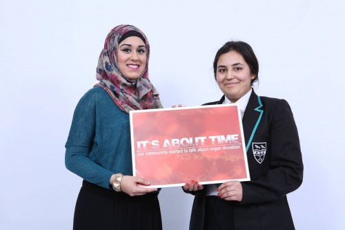 Aqilah Mohamed and Sairah Elahi both appeared in the It's About Time video.