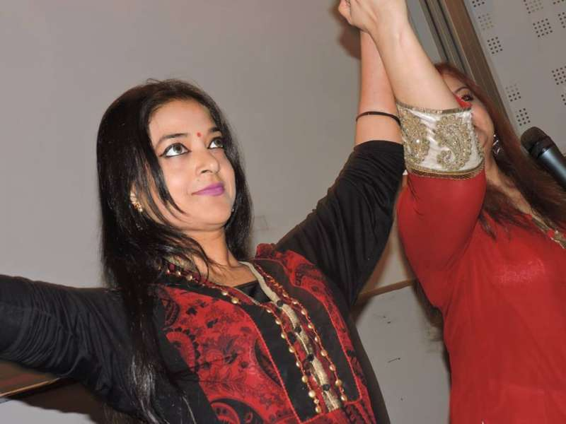 Arunima Kumar during the launch of Sangeeta Bahadur's Book Vikraal in London
