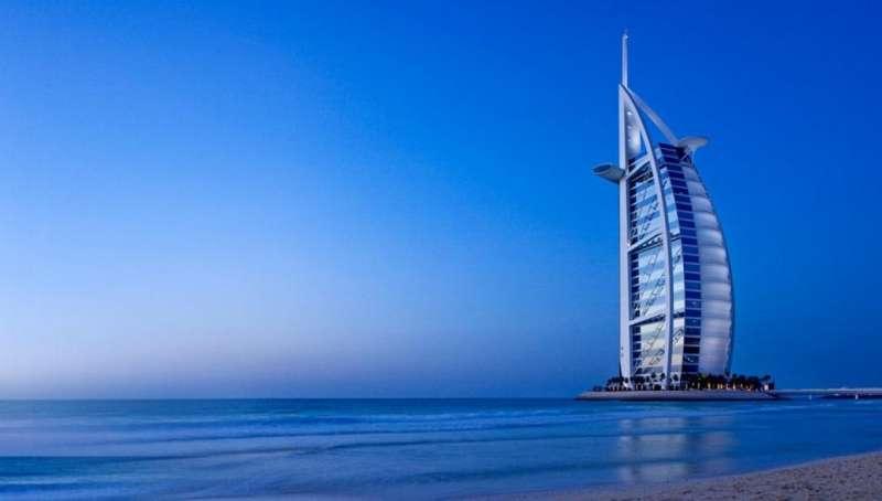 Dubai's famous Burj Al Arab