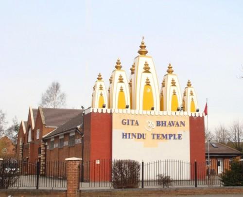 Gita Bhawan temple in Manchester