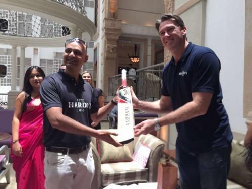 Former Australian pacer Glenn McGrath at an event in Mumbai