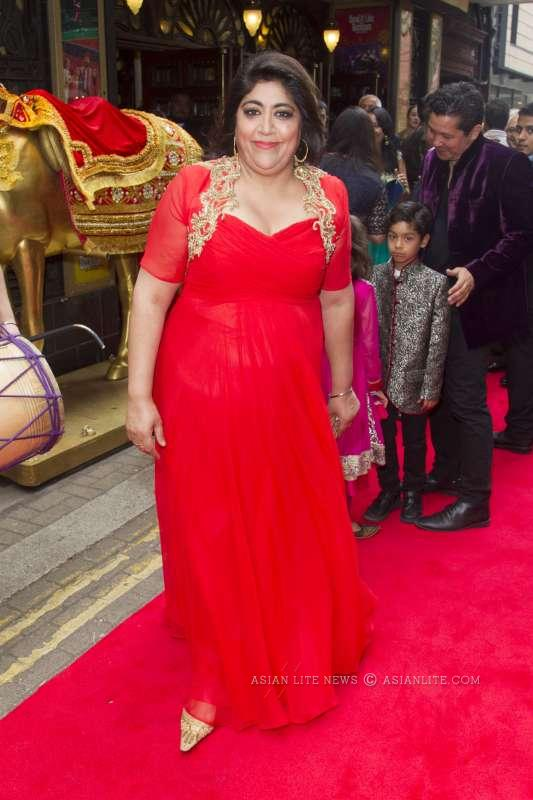 Gurinder Chadha At Bend It Like Beckham The Musical Opening night Image by Dan Wooller