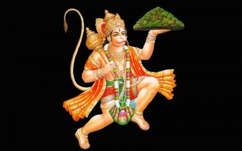Lord-Hanuman-Mountain