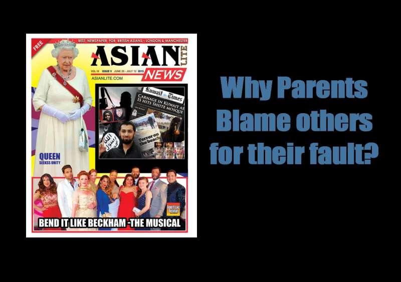 Parentss Blame