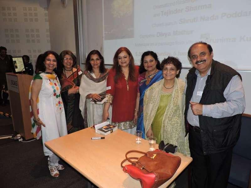 Launch of Sangeeta Bahadur's Book Vikraal in London