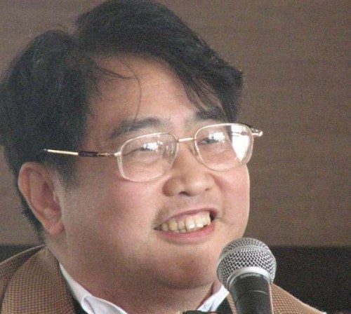 Chinese poet and writer Qiu Xiaolong, author of the acclaimed Inspector Chen series.