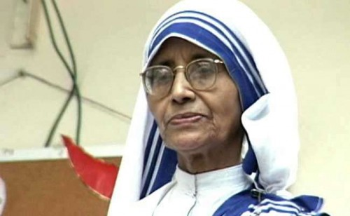 Sister Nirmala               Photo Credit: NDTV