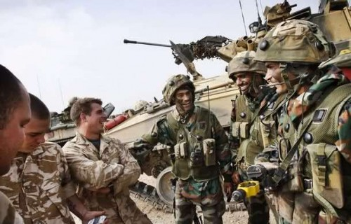 india britain joint army exercise