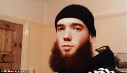 Jihadist Thomas Evans Photo Credit: Daily Mail