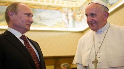 putin pope francis