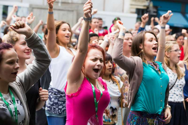Bollywood party in the aid of Macmillan Cancer Support and Teens & Toddler - 25th July: Victoria Embankment Gardens from 3pm  26th July: Old Spitalfields Market from 1.30pm