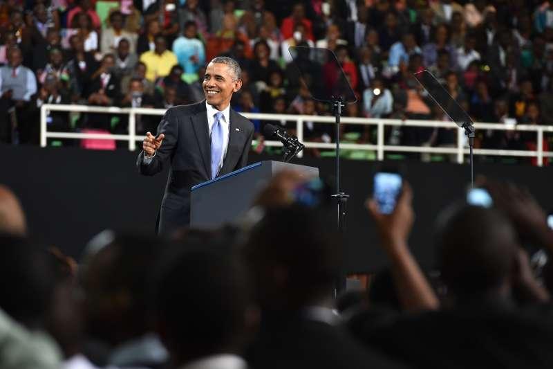 U.S. President Barack Obama in Nairobi, Kenya