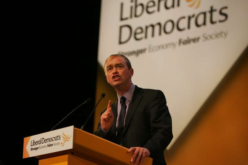 Mr Tim Farron, the new leader of the Liberal  Democrats