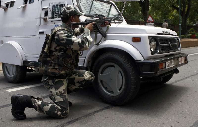 Security beefed up across India after the terror raids on a Punjab police station