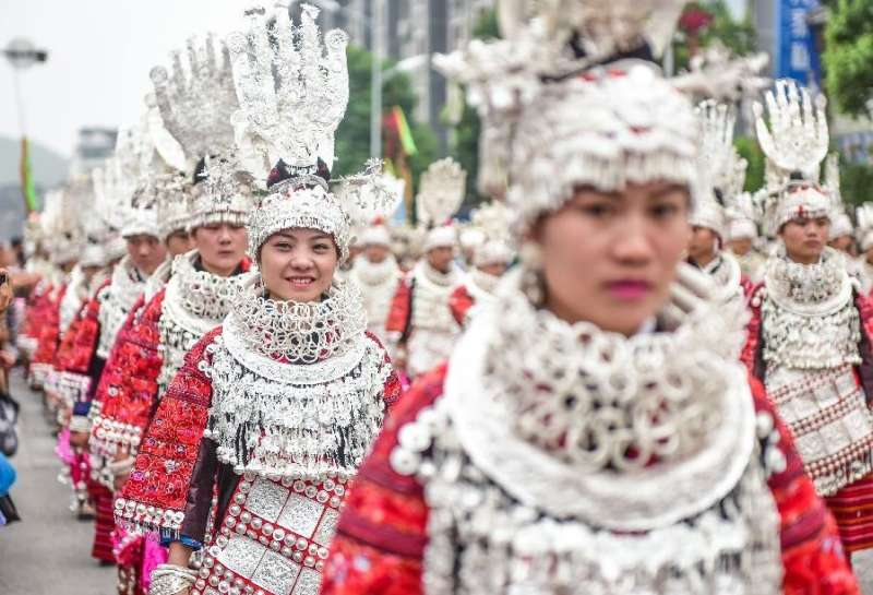 Beauty Godess Festivities: Worshipping something which may not be eternal (Courtesy: News.cn)