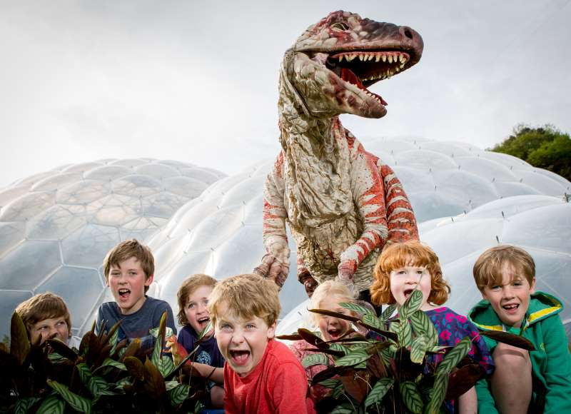Dinosaur Uproar season at the Eden Project