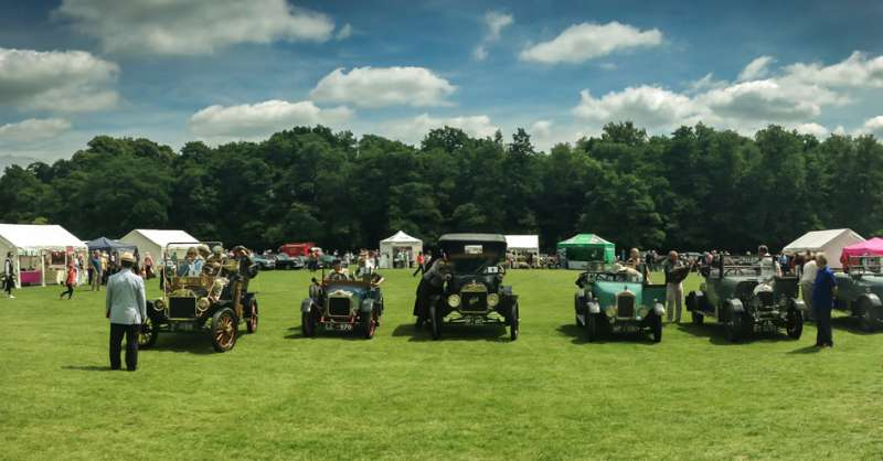 A view of BEN annual Vintage and Classic Car Rally (File)