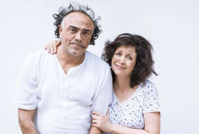 Rajit Kapur and Shernaz-Patel