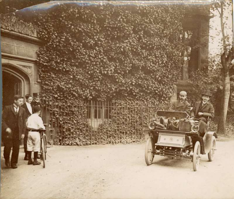 The 1901 De Dion Bouton owned from new by the Gresham family 1