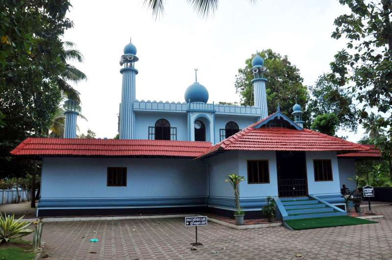KODUNGALLUR MOSQUE: The present-day mosque.