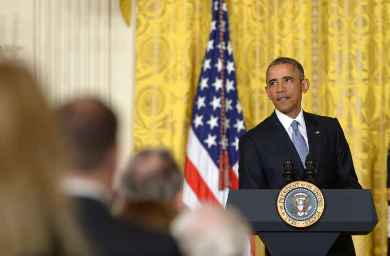 US President Barack Obama vows to defeat Republican opposition to Iran nuclear deal