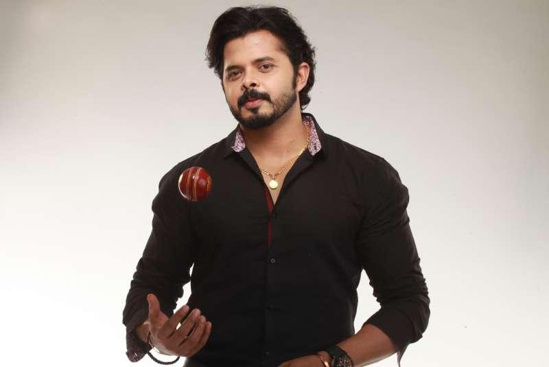 Indian cricketer Sreesanth