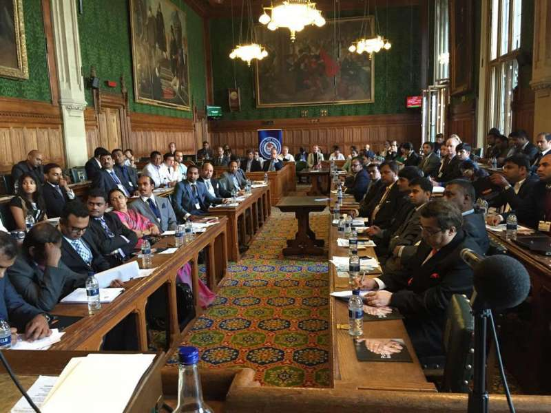 """UK Telangana Business  Meet"" at  British Parliament, London"