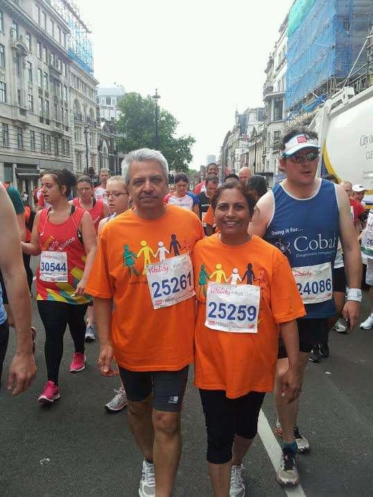 Manchester based Dr Poonam and Dr Ravi Kakkar