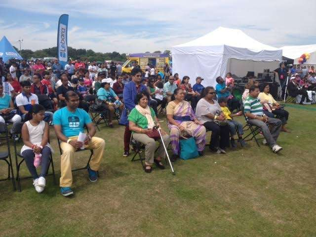 Audience enjoying the cultural programmes at Goan Fest 2015