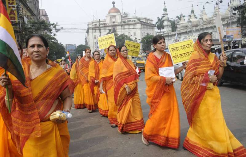 Jains in India on protest seeking fast-unto-death