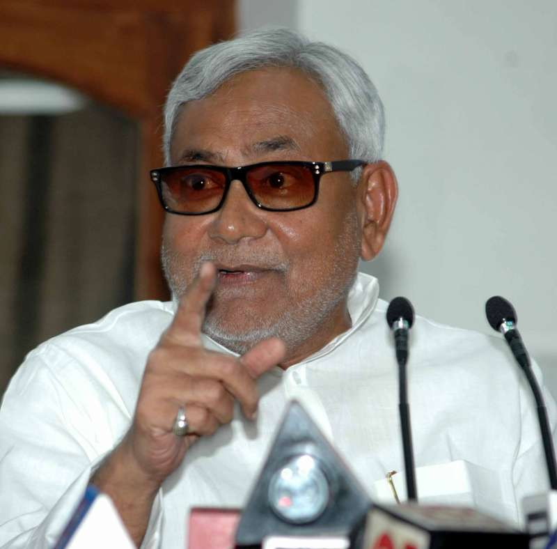 Bihar Chief Minister Nitesh Kumar